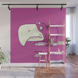 Grumpy Wings Wall Mural