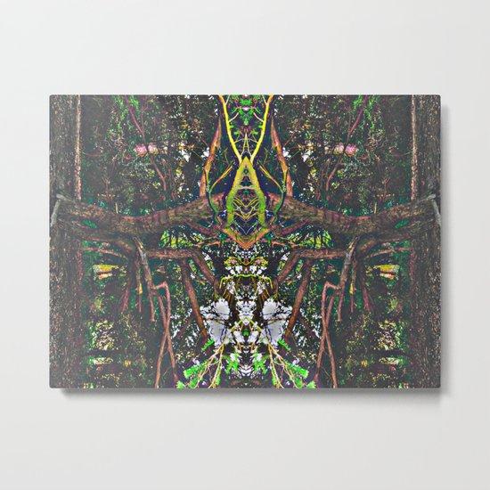 Treeflection V Metal Print