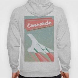 Concorde vintage travel poser Hoody