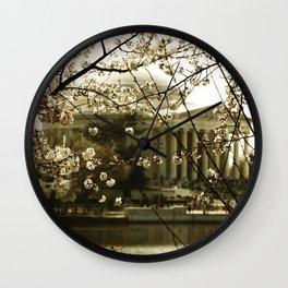 Spring - Washington, DC Wall Clock