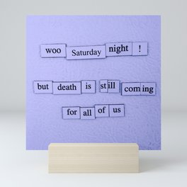 Saturday Night Mini Art Print