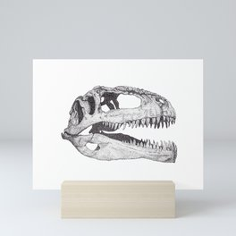 The Anatomy of a Dinosaur II - Jurassic Park Mini Art Print