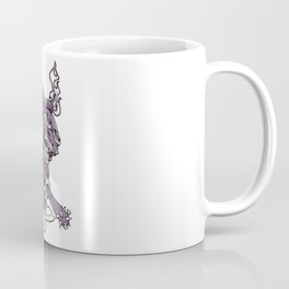 Anarchy Skeleton - Amethyst Smoke Coffee Mug