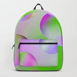 M&Ms on Purple Backpack