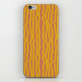 Wiggly Stripes iPhone Skin