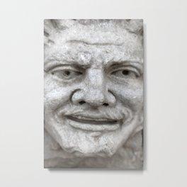 Roman Relief Sculpture Metal Print