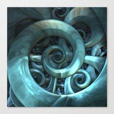Gone Spiral Canvas Print
