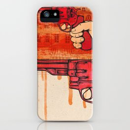 Bang iPhone Case