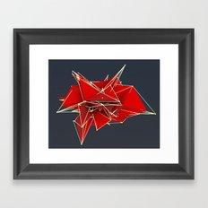 abstract polygons v2 Framed Art Print