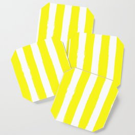 Hamptons Collection (Bright Yellow & White) Coaster