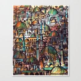 Domes Canvas Print