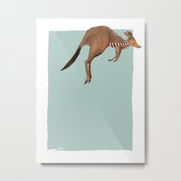 Christmas Klancy Metal Print