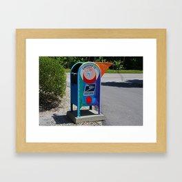 Captiva Island Mailbox- horizontal Framed Art Print