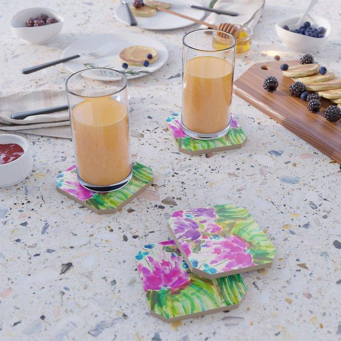 Flowerista Cactus Coaster