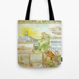 Vintage poster - Absinthe Beucler Tote Bag
