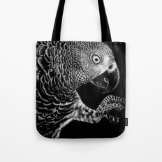 Hidden in the Canopy (Parrot) Tote Bag