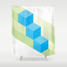 The Geometric - Four Shower Curtain