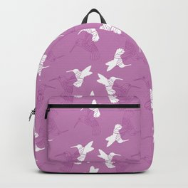 Humming Bird Pink Backpack