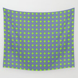 Plus Sign Pattern 1 Wall Tapestry