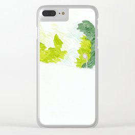 Road sign Clear iPhone Case
