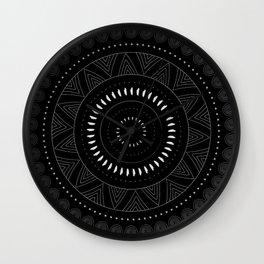 Doodle Circle Wall Clock