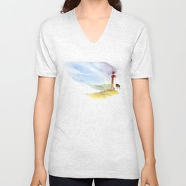Lighthouse Impressions Unisex V-Neck