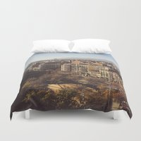 barcelona Duvet Covers featuring Barcelona by justin flores