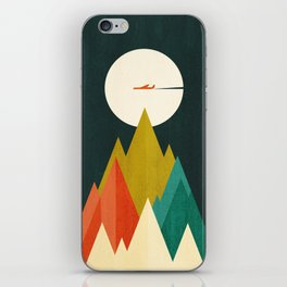 Life is a travel iPhone Skin