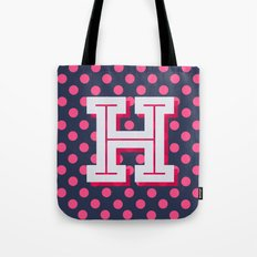 H is for Happiness Tote Bag