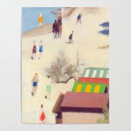 Clarice Beckett - Sandringham Beach, 1933 Poster