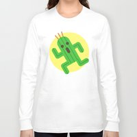final fantasy Long Sleeve T-shirts featuring Final Fantasy - Cactuar by Versiris