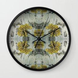 Aspen bark pattern Wall Clock