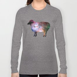 Psychedelic Sheep of the Family (2) Long Sleeve T-shirt