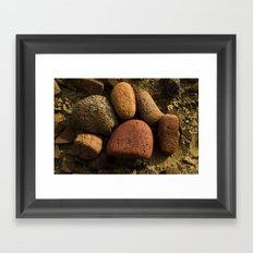 What makes up the Baja? Framed Art Print