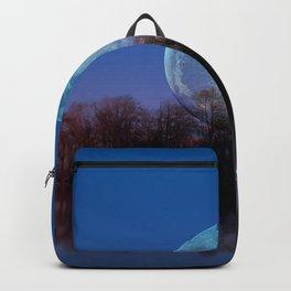 Luna arborum a tergo Backpack