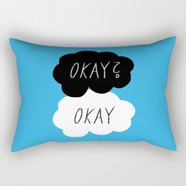 Okay? Okay Rectangular Pillow