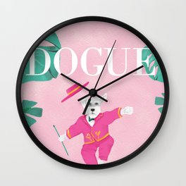Dogue - Dance Wall Clock
