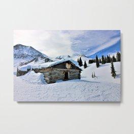 Winter Wonder Metal Print