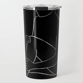 line art 4 Travel Mug