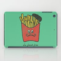 fries iPad Cases featuring French Fries by Picomodi