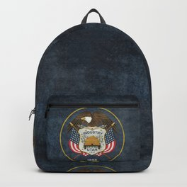 Utah State Flag vintage retro style Backpack