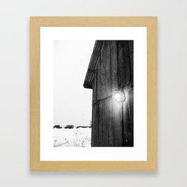 Sugar Shack Framed Art Print