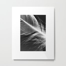 Feather Negtaive #1 Metal Print