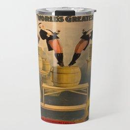 Vintage poster - Circus Acrobats Travel Mug