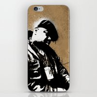 biggie smalls iPhone & iPod Skins featuring The Notorious B.I.G. - Biggie Smalls by Chad Trutt