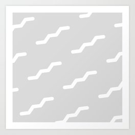 Squiggly Day Art Print
