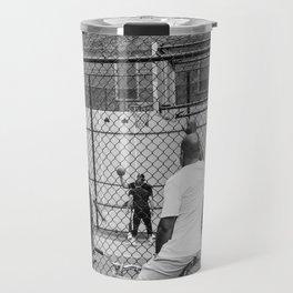 New York Basketball Travel Mug