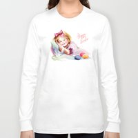 easter Long Sleeve T-shirts featuring Easter by tatiana-teni