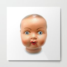 Dolls head Metal Print