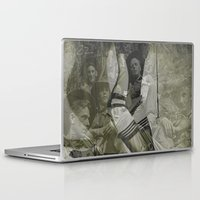 bitch Laptop & iPad Skins featuring war bitch by Maria Enache